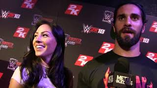 Seth Rollins talks bringing his girlfriend to a Metal Show   Metal Injection