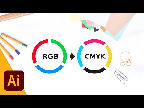 Easily Convert RGB To CMYK With Illustrator
