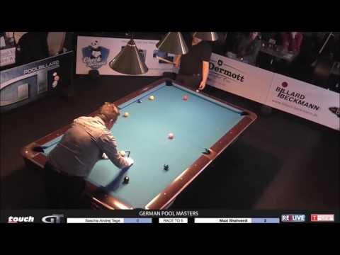 German Pool Masters2016/2017  Sascha Tege vs. Mazi Shahverdi powered by REELIVE