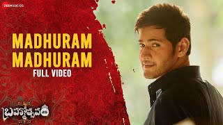 Madhuram Madhuram - Full Video | Brahmotsavam | Mahesh Babu, Kajal Aggarwal, Pranitha & Samantha