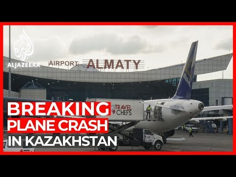 Kazakhstan plane crash: 100 people on board