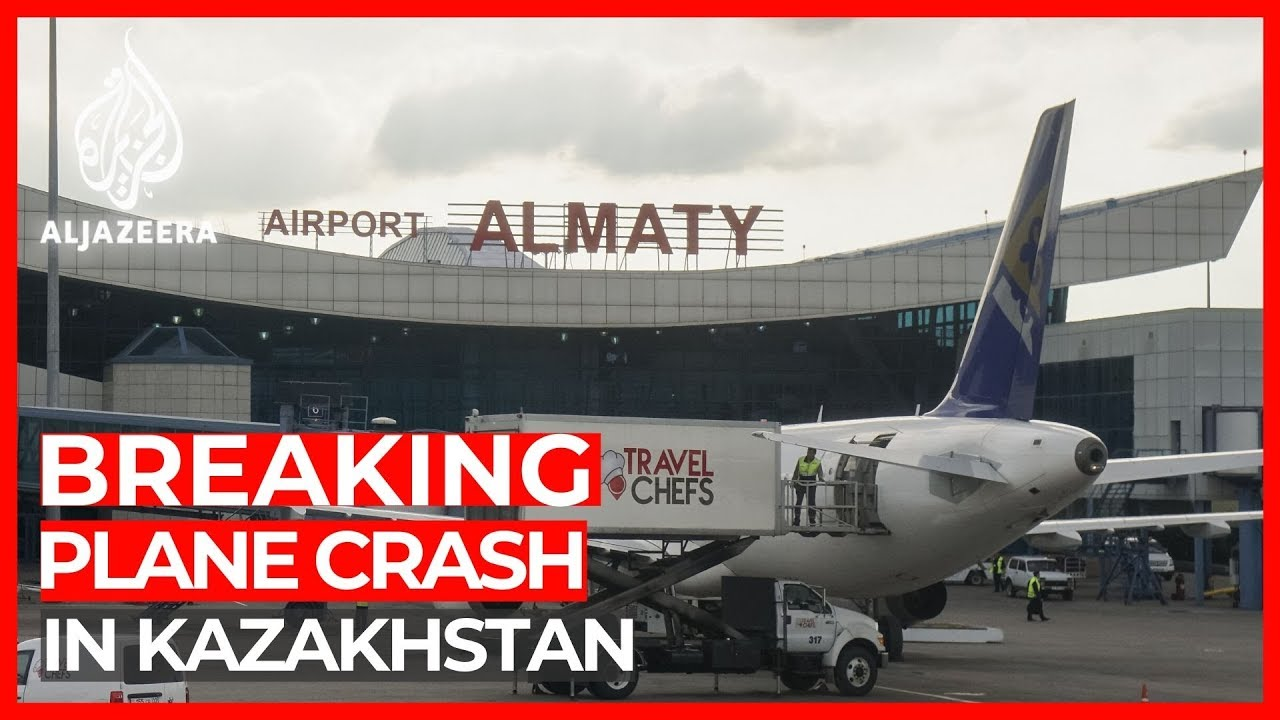Kazakhstan plane crash: 100 people on board