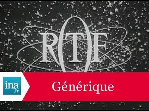 Générique de l'ORTF - Archive INA