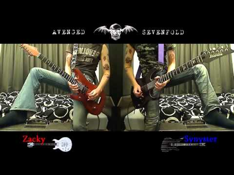 Avenged Sevenfold - Bat Country (guitar cover HD)