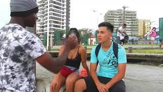Probando la inteligencia callejera entrevista 1 Video funny