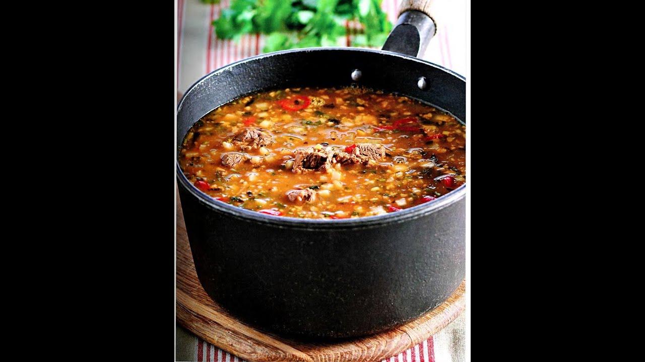 Приготовить суп харчо из баранины