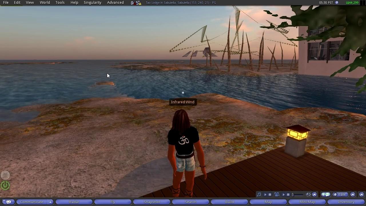 Adventures in Second Life / Episode 3 / Login Screen / Login