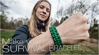 Make your own survival bracelet
