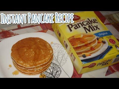 Betty Crocker Pancake Mix|पानकेक बनाने का आसान तरीका I Eggless Fluffy Pancake Recipe