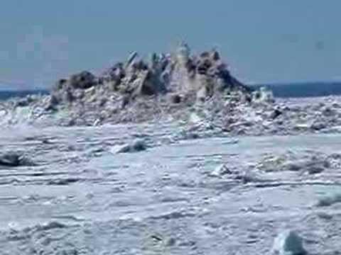 Mackenzie River Breakup 2008