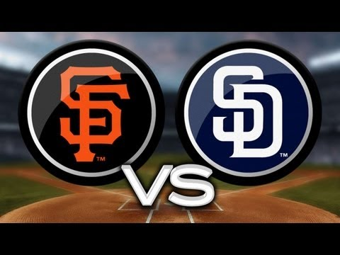 4/28/13: Padres hammer three homers in win vs. Giants