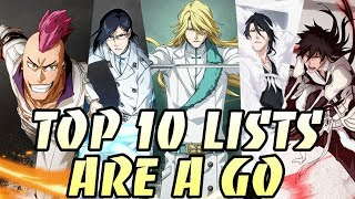Let's Make Top 10's For Easy Views - Bleach Brave Souls