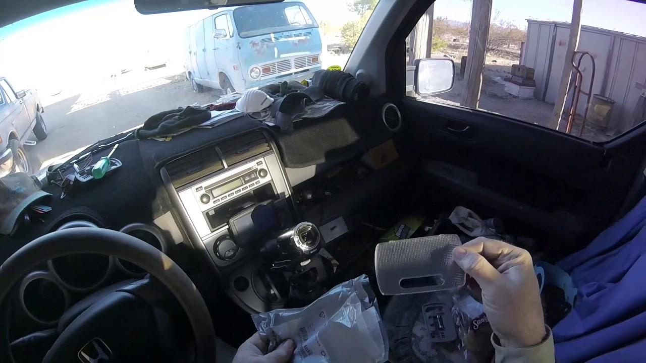honda element dome light check  replace youtube