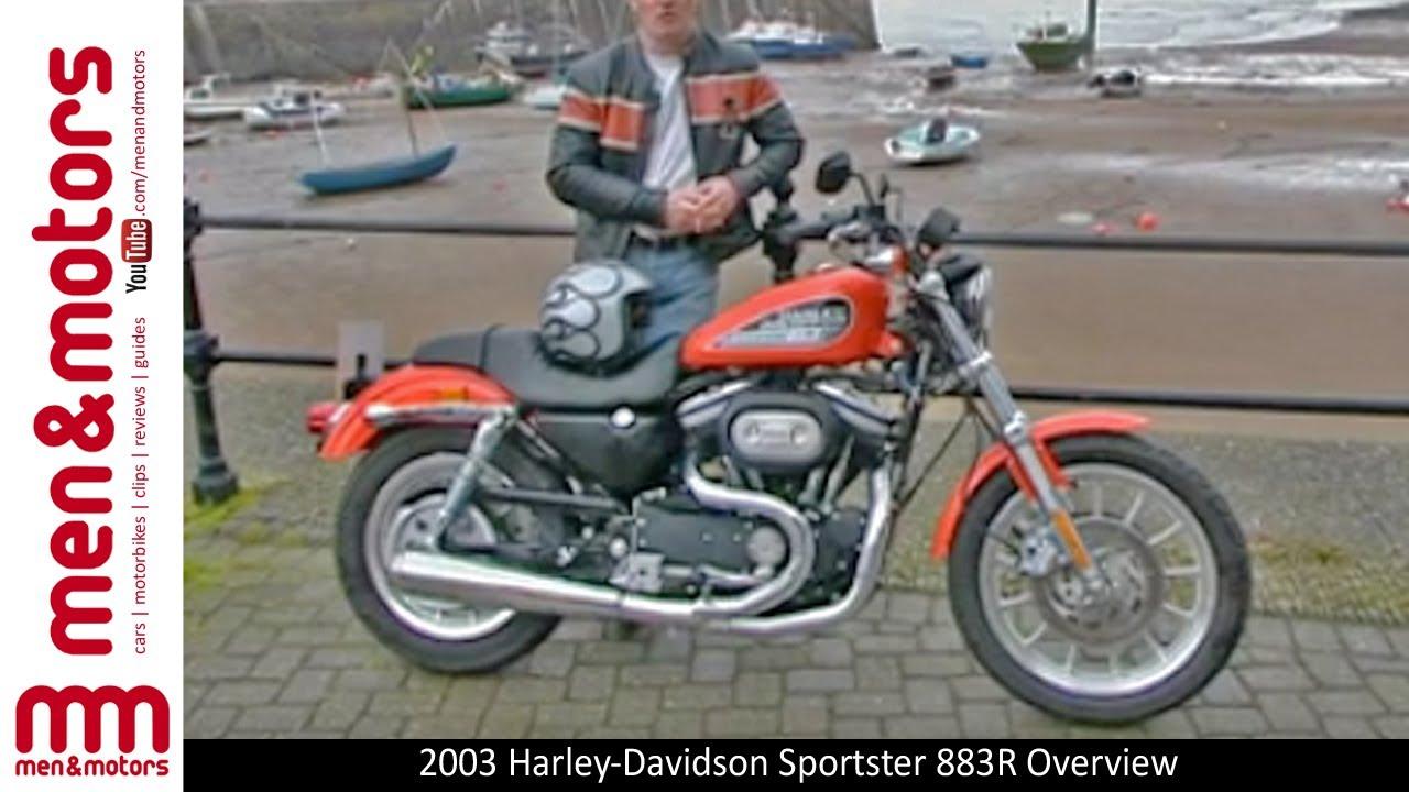 2003 harley-davidson sportster 883r overview - youtube