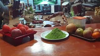 새싹보리 노지재배 유기농 먹는방법 01036546277