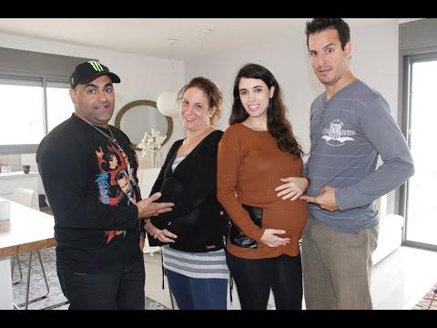 זוג מעצבן בהריון