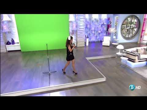 Carmen Alcayde imitando a Donna Summer 25 5 2012
