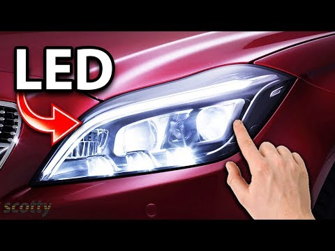 how-to-install-led-headlights-in-your-car-diy-with-scotty-kilmer