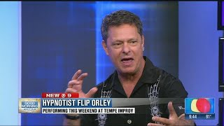 Arizona native Comic/Hypnotist Flip Orley returns to Tempe Improv