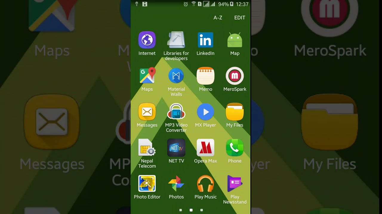 Google Maps Android API Adding Search Bar Demo - YouTube on