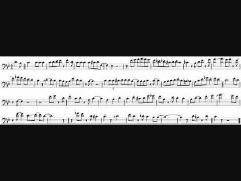 Urbie Green 'Thou Swell' Trombone Solo Transcription