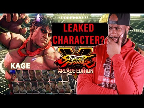 KAGE SFV LEAKED CHARACTER?