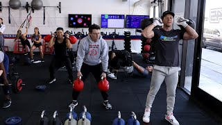 Average Andy Gets Off the Treadmill & Into the Gym with Mark Wahlberg