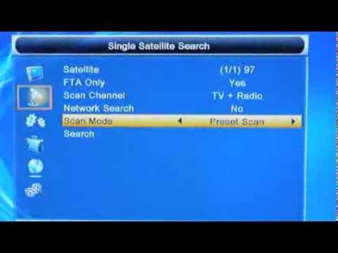 pvr800 hd dvb s2 satellite fta receiver menu youtube rh youtube com