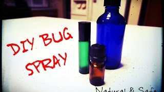 DIY: The Best Natural Bug Repellent for Mosquites, Ticks, & Other Pesky Flying Insects!