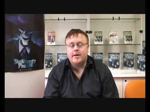 Derek Landy - Skulduggery Pleasant - Author Interview