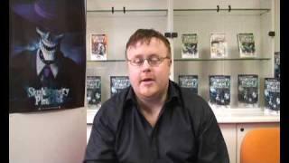 Interview with Derek Landy - author of Skulduggery Pleasant