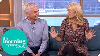 The Morning After the NTAs - Phillip's Croaky Voice and Holly's Shoe Drama   This Morning