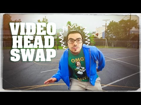 After Effects Tutorial - Video Head Swap / Replacement