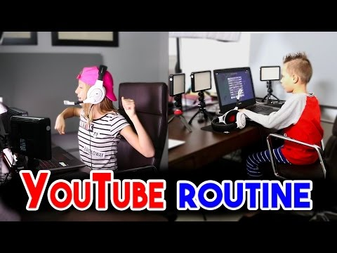 YouTube Morning Routine