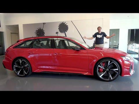 Audi RS6 Avant 2021 года - это самый крутой быстрый универсал за $130 000