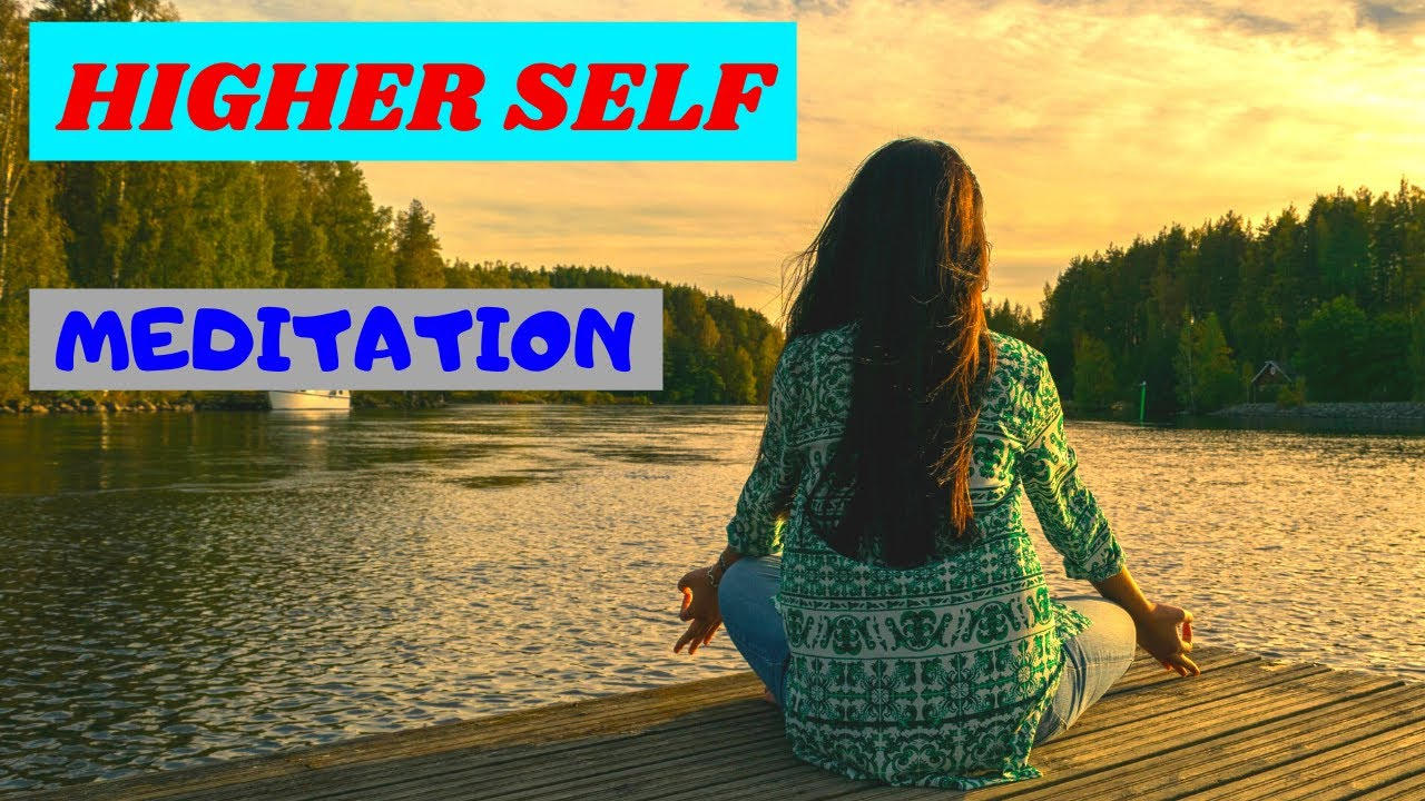 higher self meditation guided - YouTube