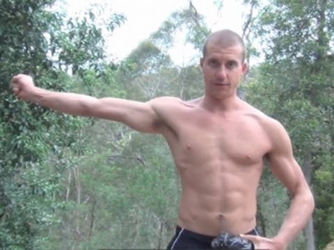 how to work out your serratus
