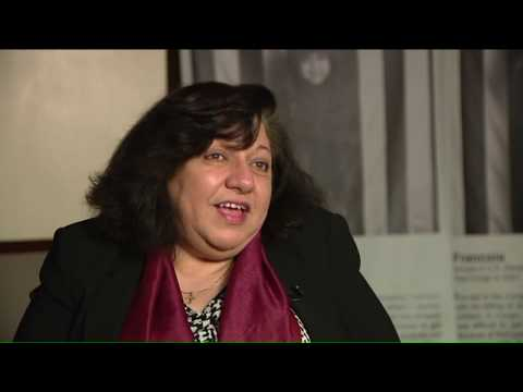 Armenian refugee`s life work is to help others that just like her