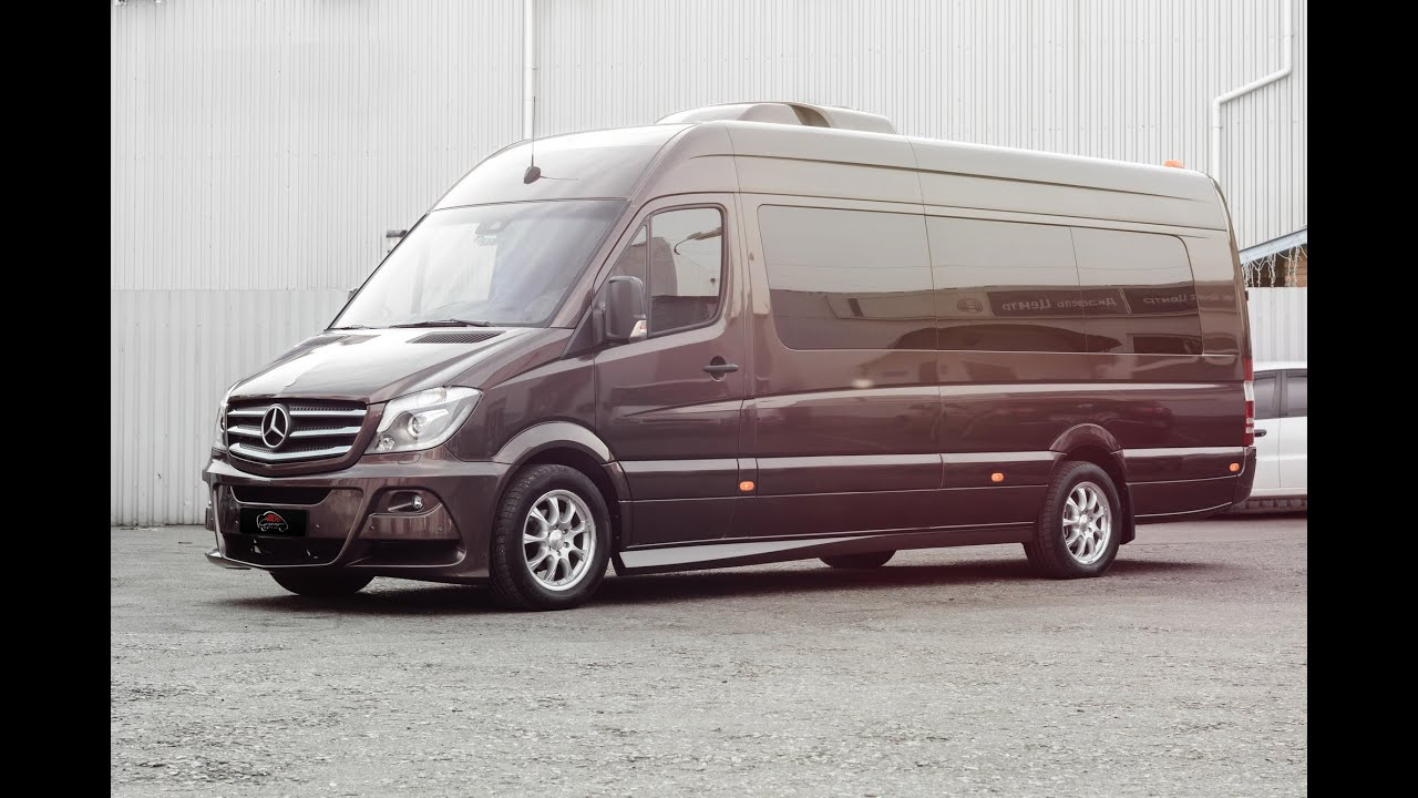 Mercedes benz sprinter business van youtube for Mercedes benz work vans