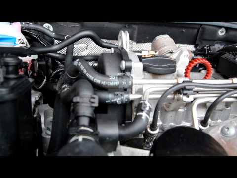 1.2 TSI faulty timing chain rattle
