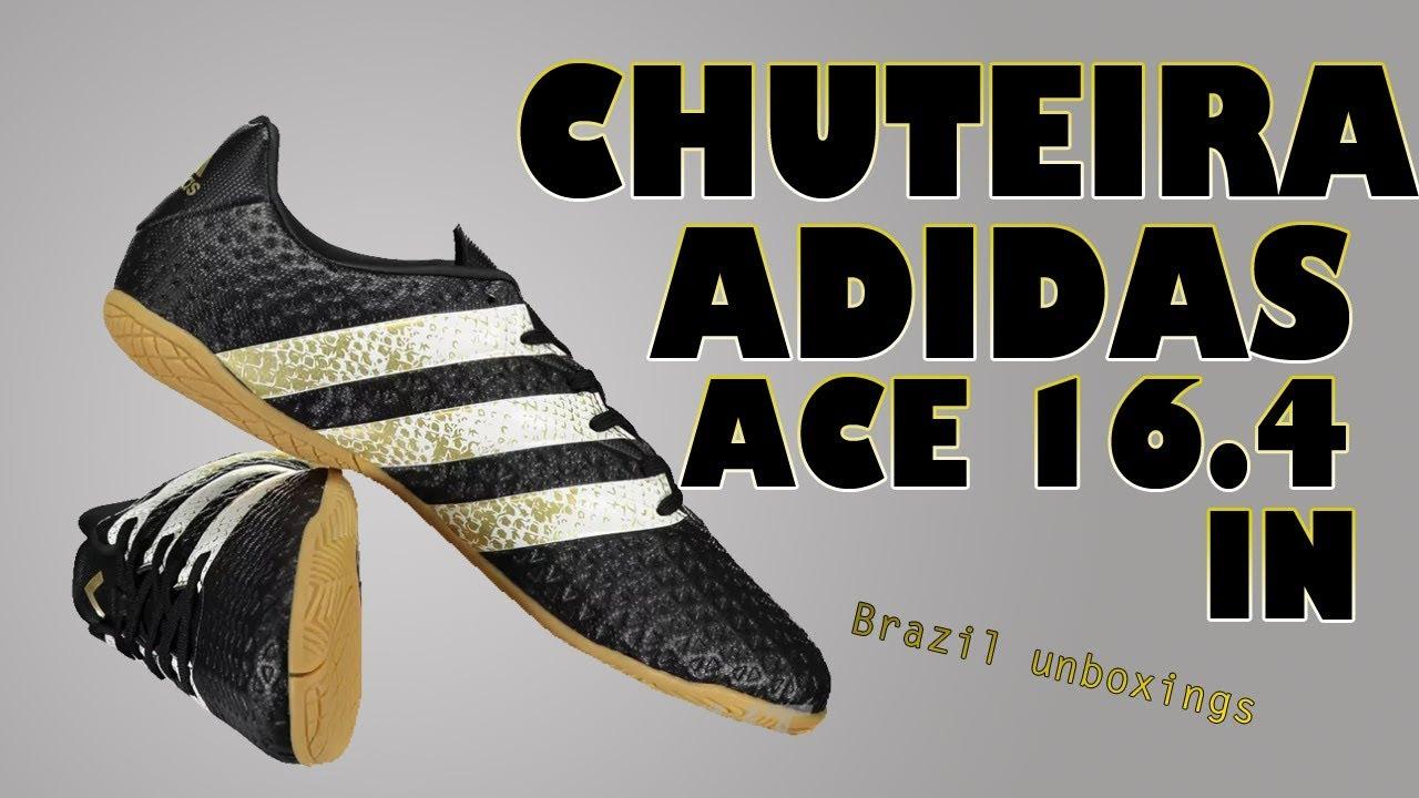 faa79d4bb47f1 Unboxing Chuteira Adidas Ace 16.4 In Futsal - Mercado Livre #5. Brazil  Unboxings