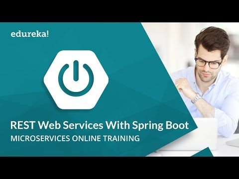 Building REST Web Services With Spring Boot | Microservices Architecture Training | Edureka