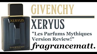 """MFO: Episode 75: Xeryus by Givenchy (1986) """"The Legend"""""""