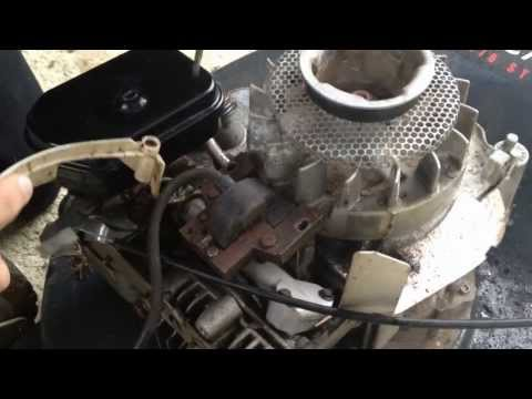 How To Set Adjust The Air Gap On Small Engines Armature