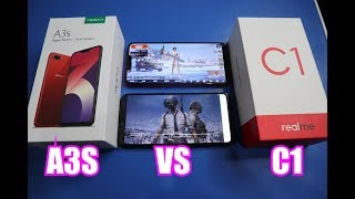 Oppo A3S VS Realme C1 (PUBG,Camera,Battery) - Which is the best???