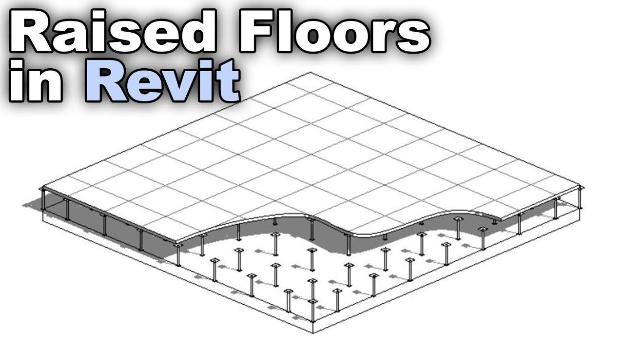 Raised Floor In Revit Tutorial Youtube