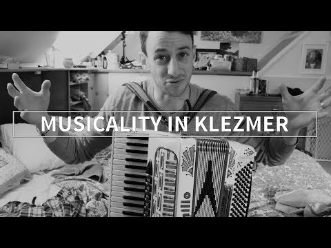 Bringing Musicality to Klezmer Music