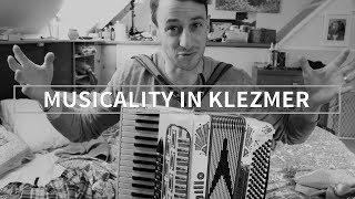 Bringing Musicality to Klezmer Music
