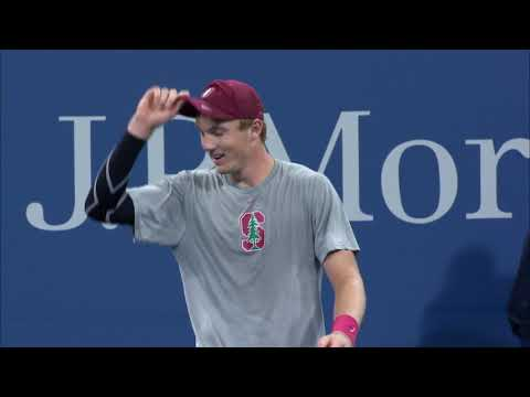 2017 US Open: Tom Fawcett Wins Men's Collegiate Invitational