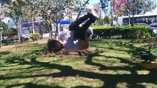 Día 1  Nuestro primer vlog de parkour CR   (Stalez y pinto B)